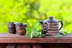Peppermint tea Stock Photography