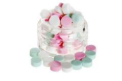 peppermints βάζων εστίασης κύπελλ&omega Στοκ φωτογραφία με δικαίωμα ελεύθερης χρήσης