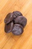 Peppermints που καλύπτονται στη σοκολάτα Στοκ Εικόνες