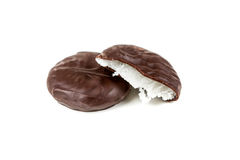 Peppermints που καλύπτονται στη σοκολάτα Στοκ φωτογραφία με δικαίωμα ελεύθερης χρήσης