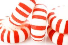 Peppermints σε ένα άσπρο υπόβαθρο Στοκ Φωτογραφίες