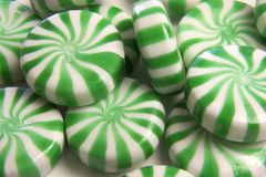 Peppermints Stock Photography