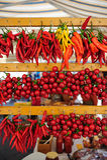 Pepperoncini och pomodorini Royaltyfri Bild