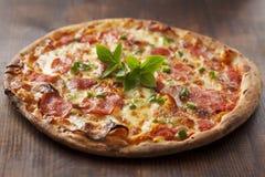 Pepperoni пиццы Стоковое фото RF
