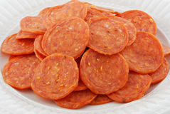Pepperoni Stock Image