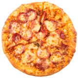 Pepperoni And Cheese Pizza III Royalty Free Stock Image