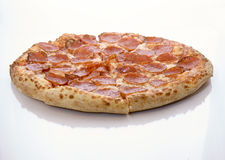 pepperoni pizza Fotografia Stock