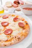 Pepperoni Pizza. Stock Photography