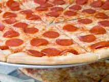 pepperoni pizza zdjęcie stock