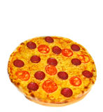Pepperoni pizza Stock Photo