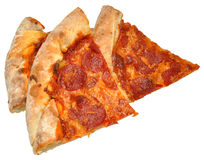 Pepperoni Pizza Portions Royalty Free Stock Image