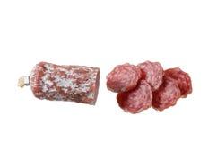 Pepperoni sausage Stock Photo