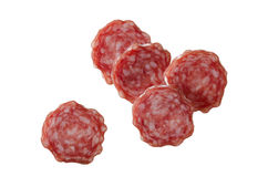 Pepperoni sausage Stock Photography