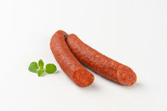 Pepperoni Sausages Royalty Free Stock Photography
