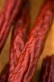 Pepperoni Sticks  Stock Images
