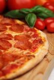Pepperonipizza Lizenzfreies Stockbild