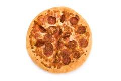 Pepperonipizza Stockfotos
