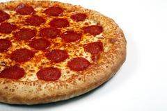 Pepperonipizza lizenzfreie stockfotos