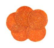 Pepperonis stock afbeeldingen