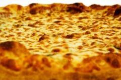 Pepperonis en kaaspizza Royalty-vrije Stock Afbeeldingen