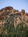 Pepperpot岩石在红色峡谷国家公园,犹他,美国 免版税库存照片