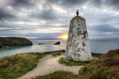 The PepperPot at Portreath in Cornwall Stock Image