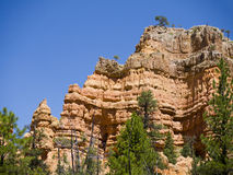 Pepperpot Rocks in Red Canyon National Park, Utah, USA. Bryce Canyon is distinctive due to its geological structures, called hoodoos, formed from wind, water Stock Photo