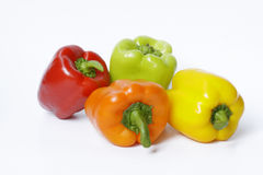 Peppers. Fresh peppers with different colors Stock Image