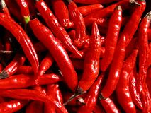 Peppers. Texture Stock Photo