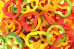 Peppers background Stock Photography