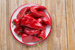 Peppers in bowl Royalty Free Stock Photography