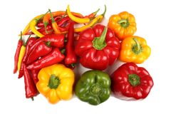 Peppers. Royalty Free Stock Photo