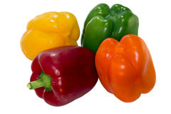 Peppers different colors Royalty Free Stock Images