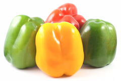 Peppers family Royalty Free Stock Photography
