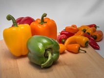 Peppers Galore II royalty free stock photography
