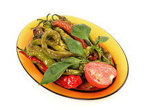 Peppers salad Stock Photography