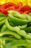 Peppers slices Royalty Free Stock Images
