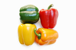 Peppers Squared Stock Image