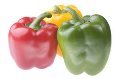 Peppers talking Stock Image