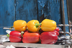 Peppers on there again Royalty Free Stock Photo