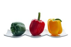 Peppers three Royalty Free Stock Images