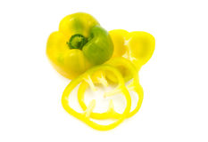Peppers  on white background Stock Image