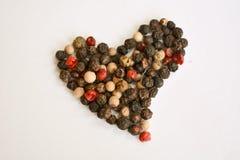 Peppery förälskelse Arkivbilder