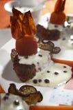 peppra steak Fotografering för Bildbyråer