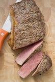 pepprad steak Royaltyfri Fotografi