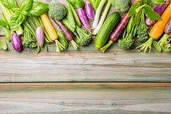 pepprar ny maize för bakgrundscabbadgemoroten grönsaker Royaltyfri Bild