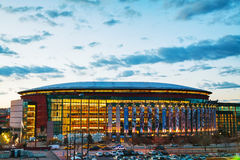 Pepsi Center in Denver, Colorado Royalty Free Stock Image