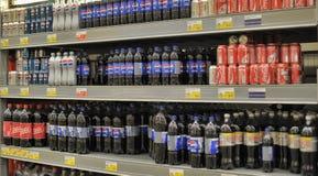Pepsi and Coca Cola Stock Image