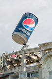 Pepsi Cola Advertising Stock Photo
