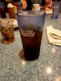 Pepsi con la cena fotografie stock libere da diritti